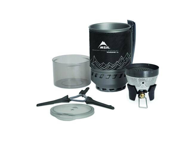 MSR WindBurner Stove System 1,8L black